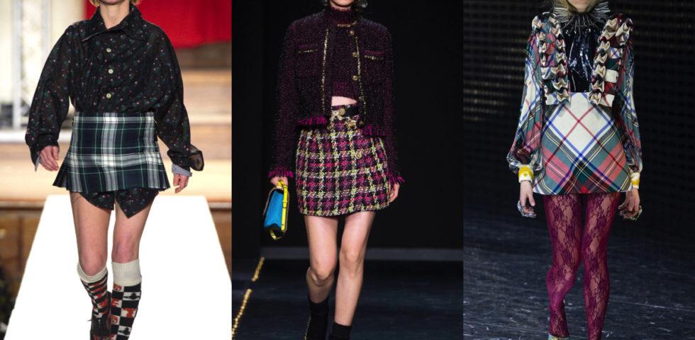 Gonna scozzese: colori e fantasie da abbinare