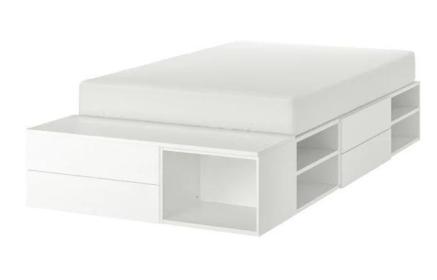 Letto Matrimoniale Con Contenitore Ikea.Letto Contenitore Ikea Singolo E Matrimoniale Le Novita 2020