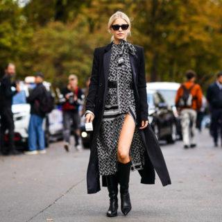 Fashion Tip: come abbinare l'abito lungo in inverno