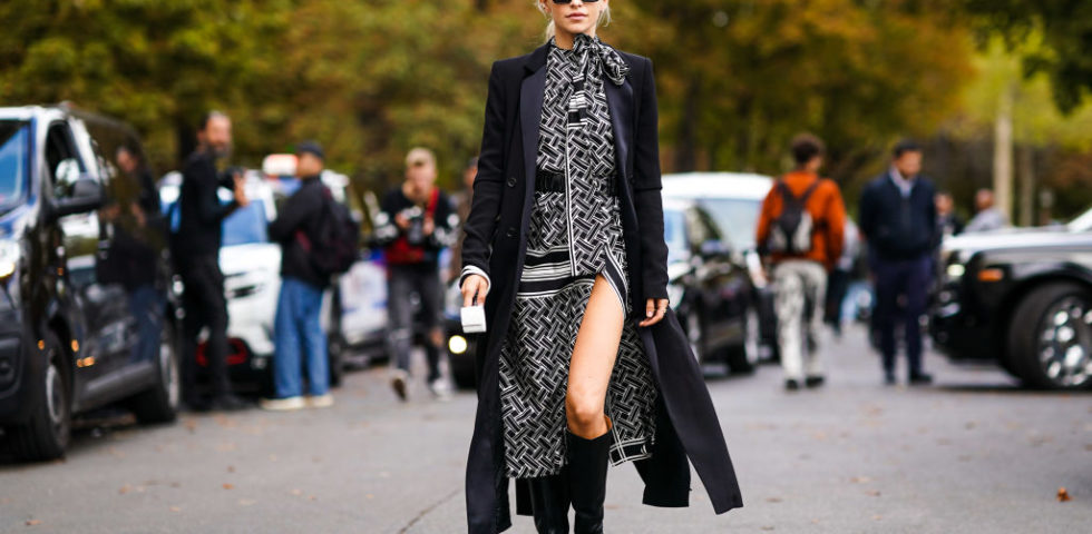 Vestiti lunghi, con quali scarpe e cappotti abbinarli in inverno