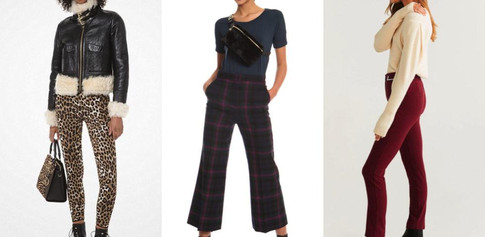 10 pantaloni per l'Autunno-Inverno 2019/2020