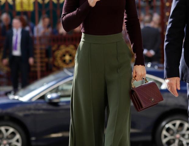 Abbinare il color borgogna come Kate Middleton