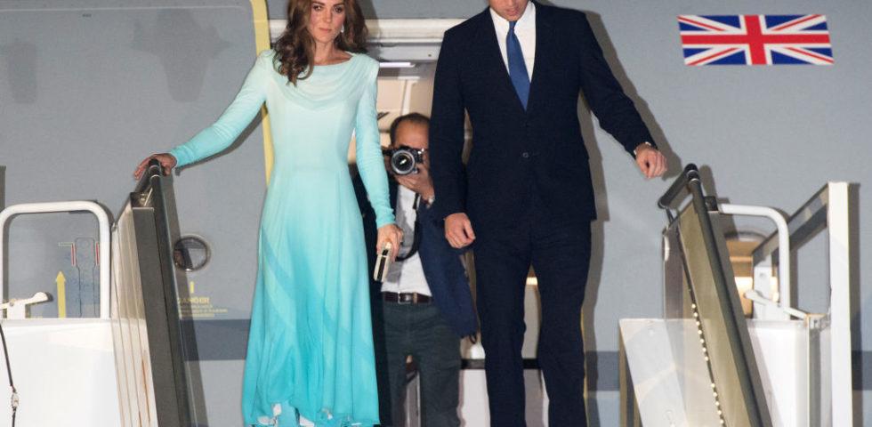 Kate Middleton in Pakistan con i vestiti tradizionali locali (come Lady Diana)