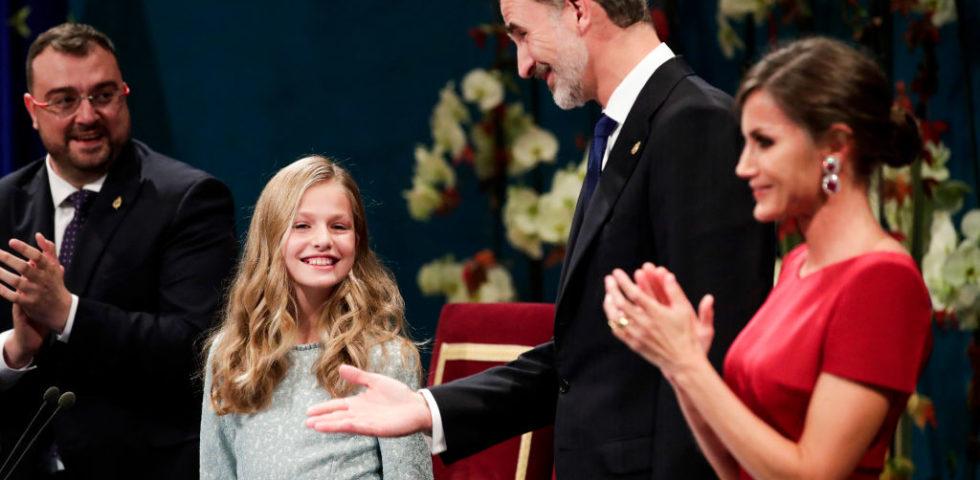 Il primo discorso della Principessa Leonor di Spagna è un trionfo