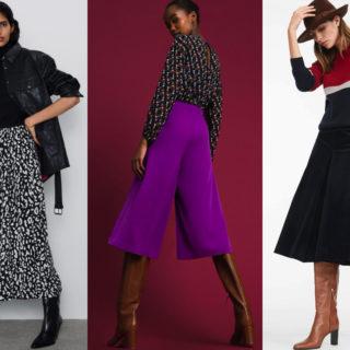 Fashion Alert: la gonna pantalone must dell'inverno