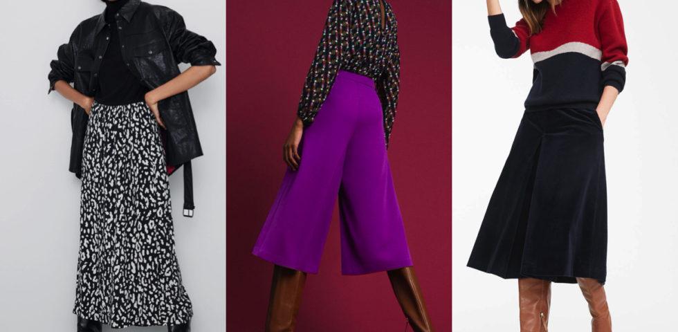 Gonna pantalone, come indossarla e i modelli più trendy