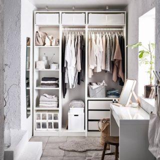 Cabine armadio IKEA: 4 soluzioni per il guardaroba dei sogni