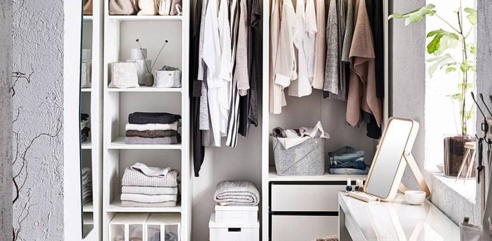 Cabina armadio IKEA: i componibili per sfruttare gli spazi