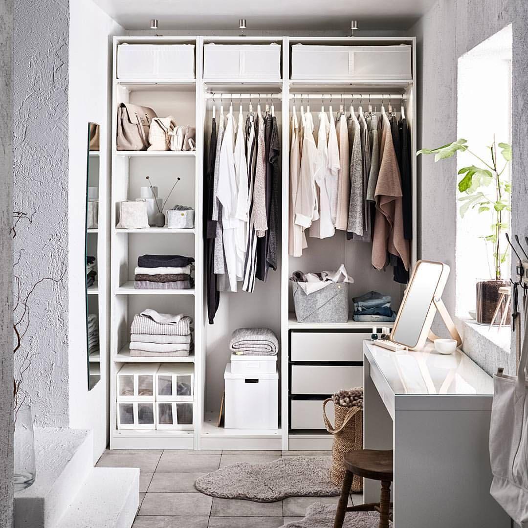 Cabina armadio IKEA: i componibili per sfruttare gli spazi ...