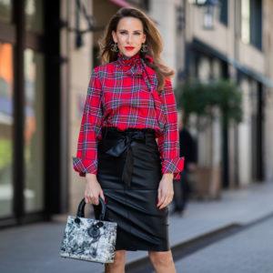 Fashion tips: come abbinare la gonna di pelle