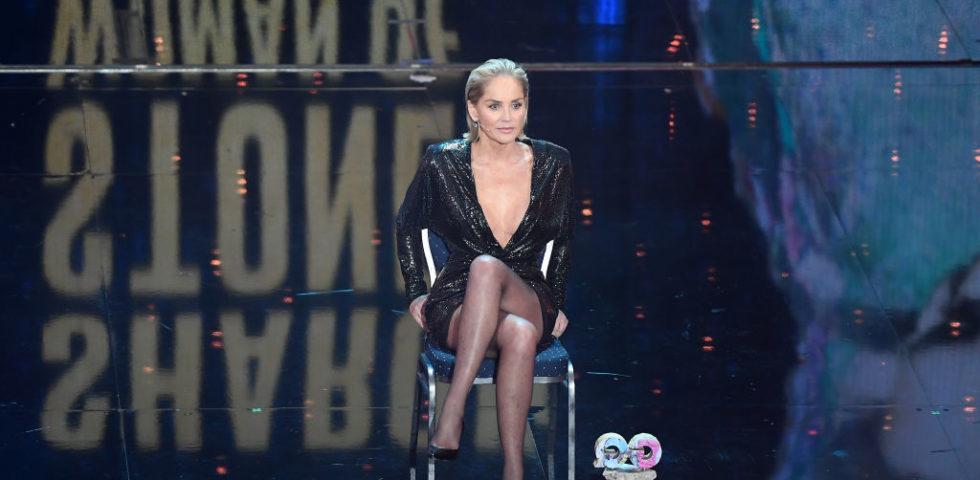 Sharon Stone a 61 anni come in Basic Instinct