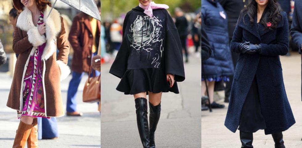 Stivali alti: i consigli per indossarli con stile