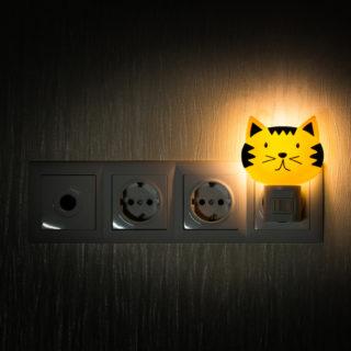 Lampade e luci notturne della buonanotte