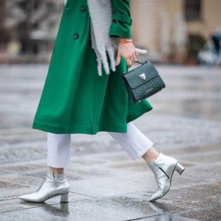 Fashion Tip: come indossare le scarpe argento