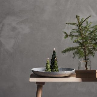 Inspiration: decorare casa con le candele natalizie