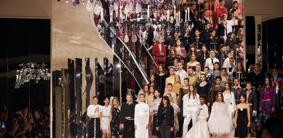 La collezione Chanel Métiers d'art 2019/2020