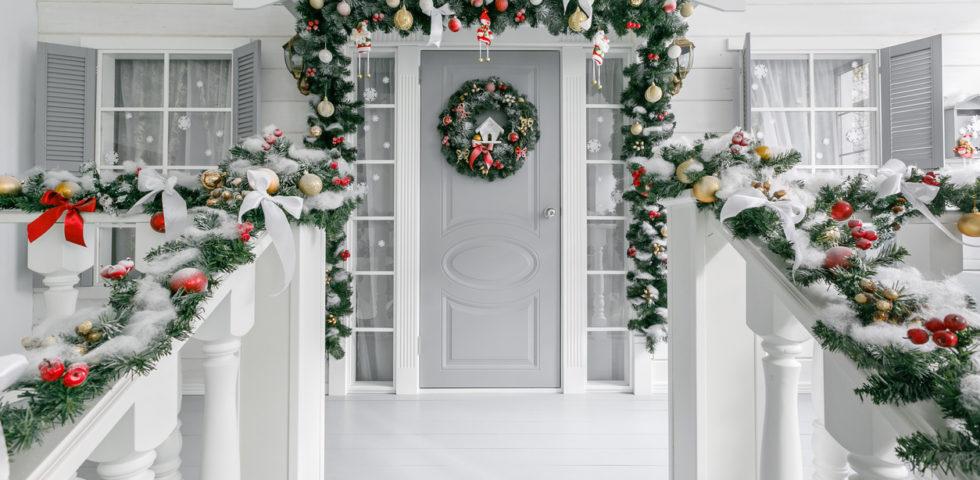 10 decorazioni di Natale da esterno eleganti e particolari