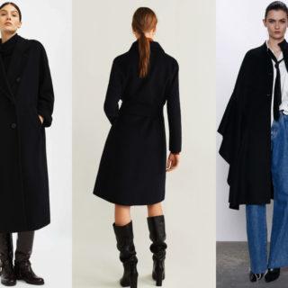 Fashion Tip: come abbinare il cappotto nero