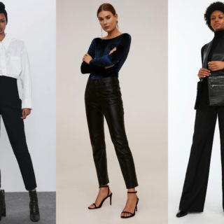 Fashion tip: come abbinare i pantaloni neri