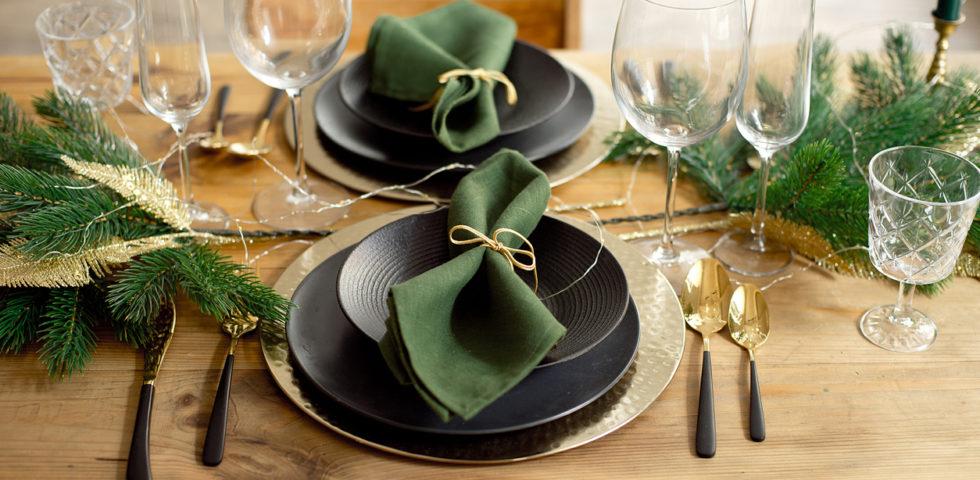 11 sottopiatti natalizi per decorare la tavola