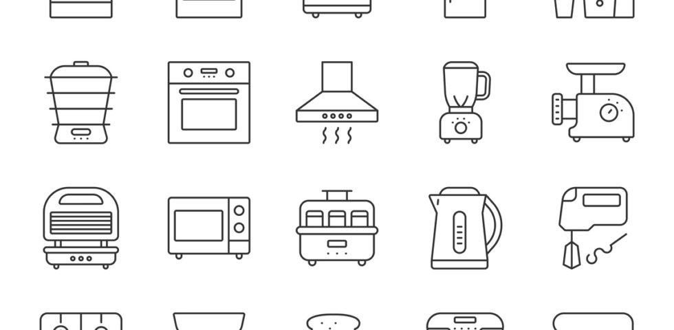 10 piccoli elettrodomestici per una cucina professionale