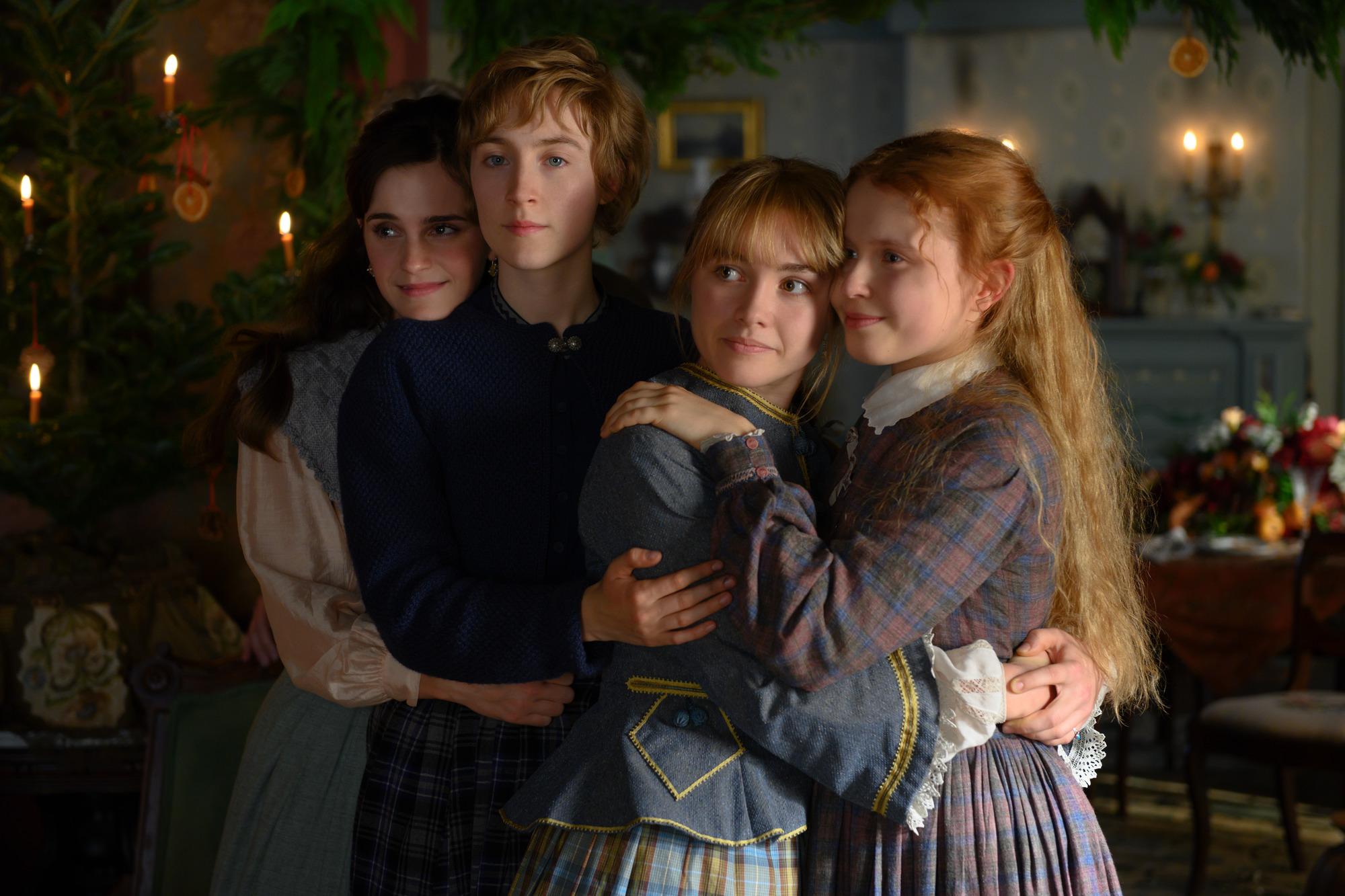 Una scena di Piccole donne il film diretto da Greta Gerwig