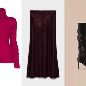 Fashion Tip: come abbinare la gonna lunga in raso