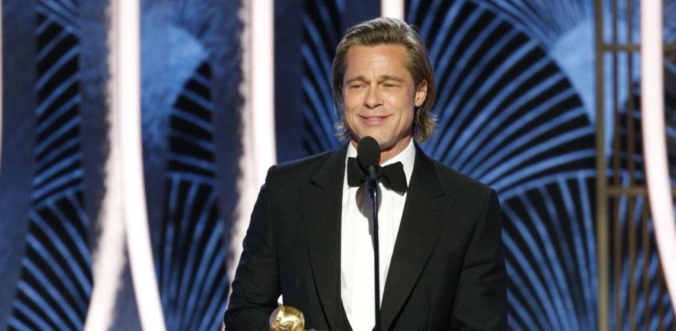 Brad Pitt parla di Jennifer Aniston ai Golden Globe: è una buona amica