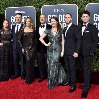 La dedica di Tom Hanks alla famiglia per il Golden Globe