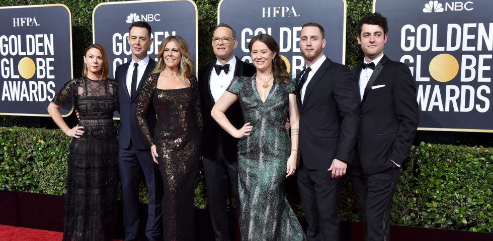 Golden Globe 2020: Tom Hanks dedica il premio alla carriera alla famiglia
