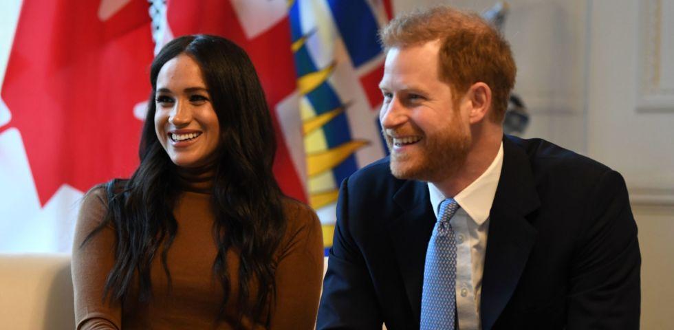 Meghan Markle e Harry tornano in pubblico smentendo il trasferimento in Canada