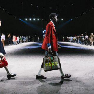 Gucci: l'uomo onora le sue fragilità