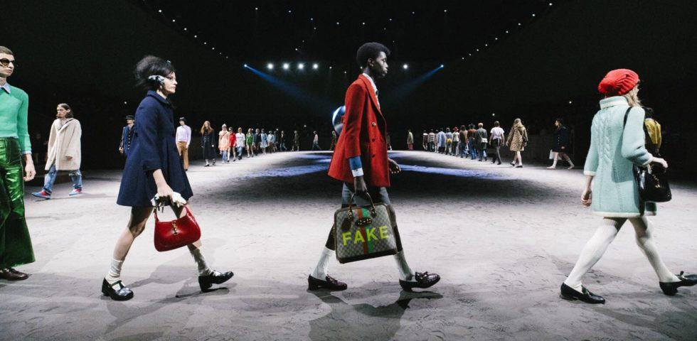 Gucci Uomo: la provocatoria sfilata Autunno-Inverno 2020/2021