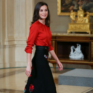 Letizia Ortiz: look low cost che fa tendenza