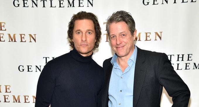 Matthew McConaughey e Hugh Grant futuri fratellastri?