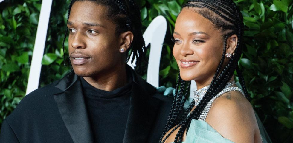 Rihanna e il nuovo flirt conAsap Rocky
