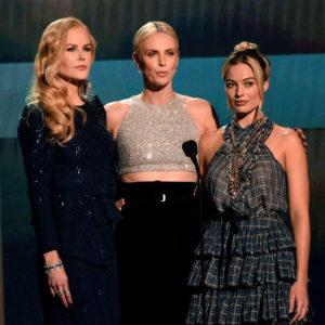 Kidman, Theron e Robbie belle e unite ai SAG Awards