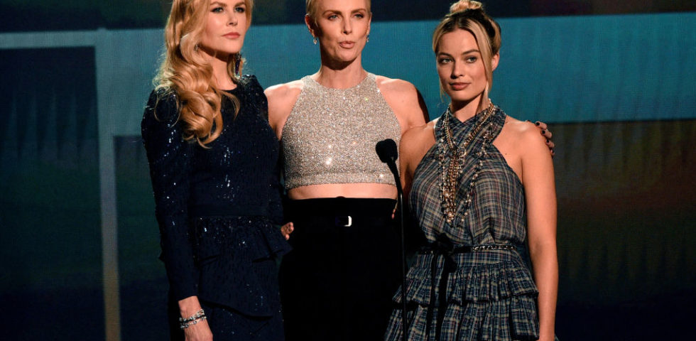 Nicole Kidman, Charlize Theron e Margot Robbie incantano ai SAG Awards 2020