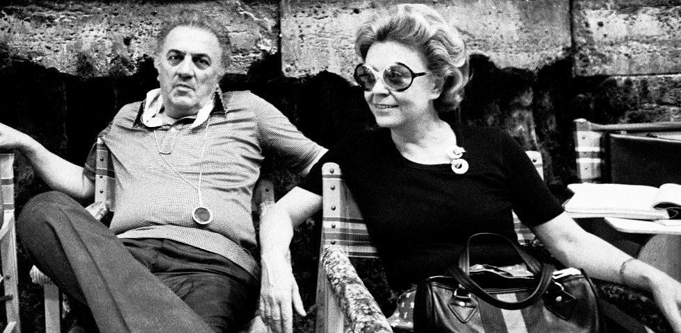 100 anni di Federico Fellini: la storia d'amore con la moglie Giulietta Masina