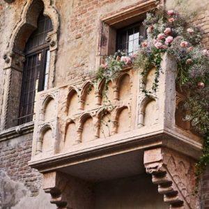 San Valentino nella casa di Giulietta a Verona