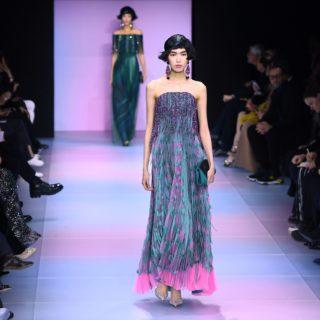 Il glamour esotico di Giorgio Armani Privé