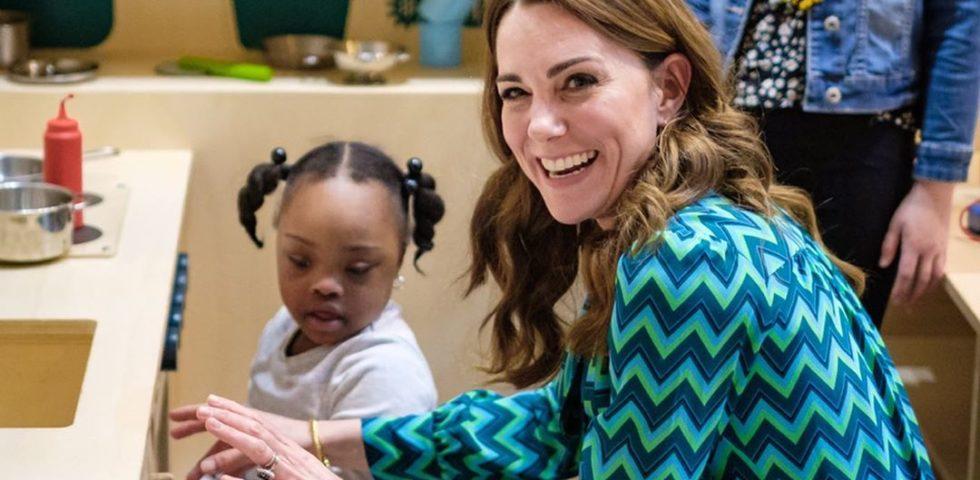 Kate Middleton come Diana: ribattezzata la Principessa dei bambini