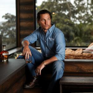 Come dormire nella baita green di Matthew McConaughey