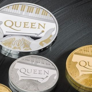 Omaggio ai Queen sulle monete inglesi