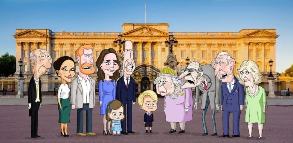 I Reali d'Inghilterra diventano una serie tv d'animazione in The Prince