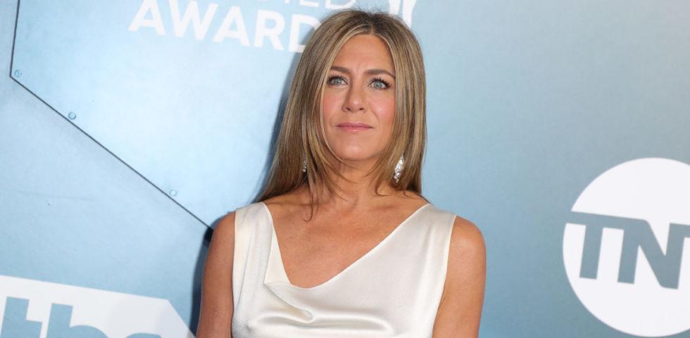 Jennifer Aniston: la storia dell'abito vintage sfoggiato ai SAG Awards