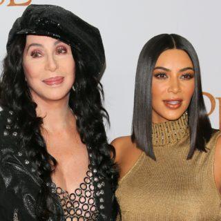 Kim Kardashian West e Cher anni '80 per un progetto segreto