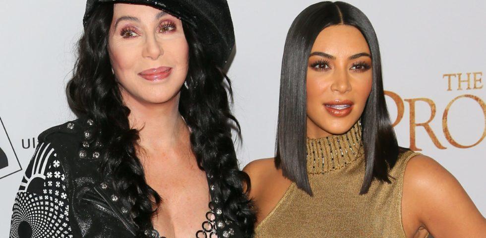 Kim Kardashian West e Cher girano un video insieme