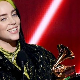Billie Eilish in lacrime ai BRIT Awards 2020