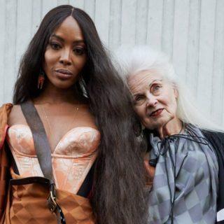 Naomi Campbell senza veli per Vivienne Westwood a 49 anni